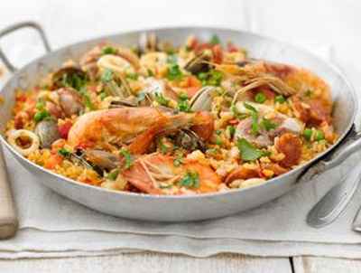 Paella specialiteit in Pinoso